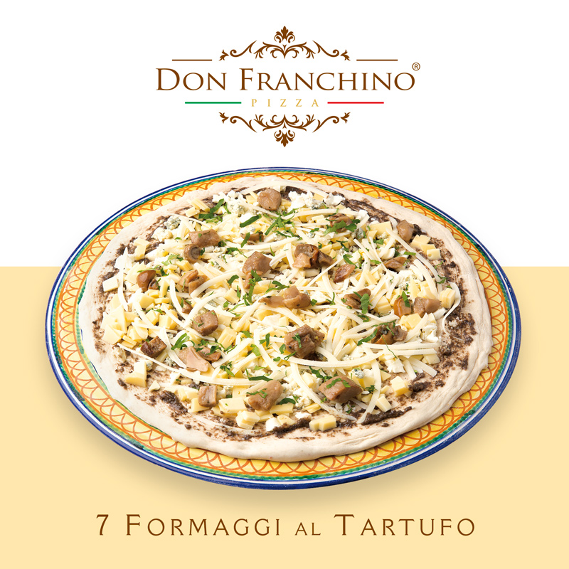 Don-Franchino - Pizza 7 Formaggi al Tartufo