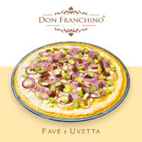 Don Franchino - Pizza Fave e Uvetta