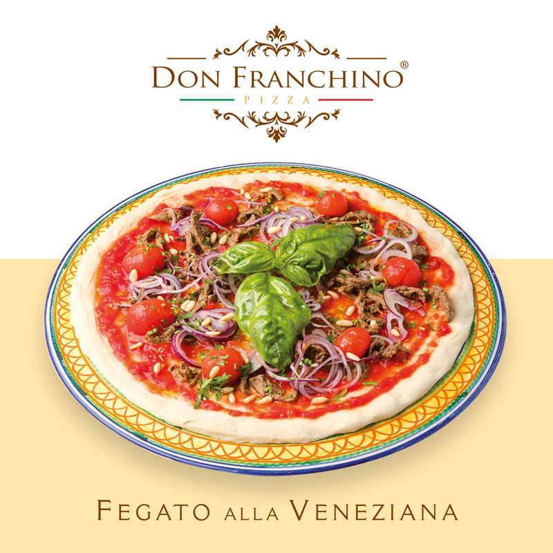 Don Franchino - Pizza Fegato alla Veneziana