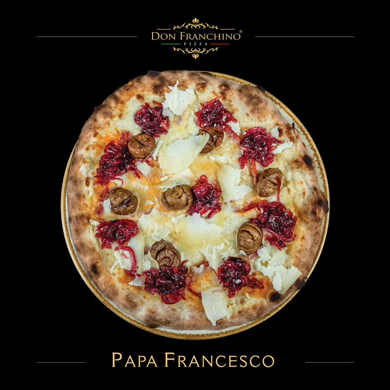 Don Franchino Pizza - Papa Francesco