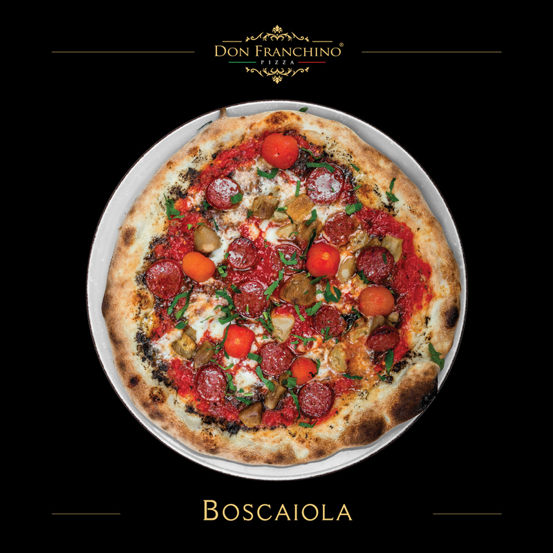 Don Franchino Pizza - Boscaiola